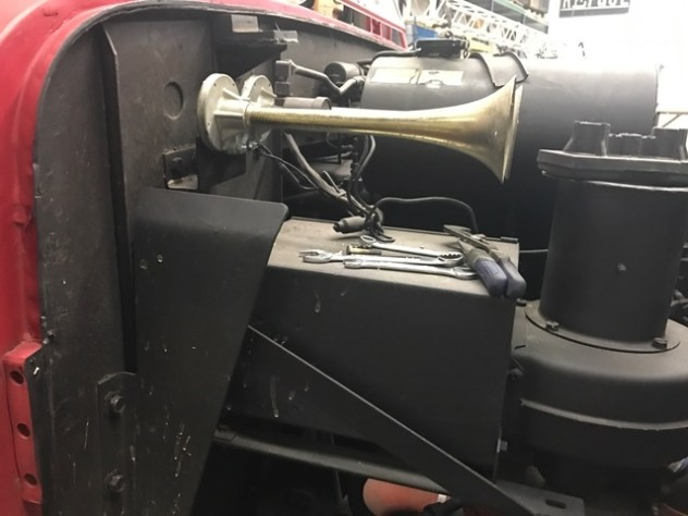 New air horn side view